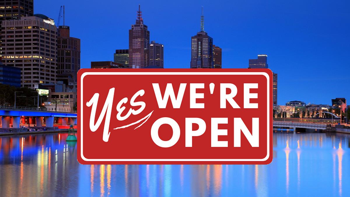 Melbourne to re-open following zero cases of Coronavirus